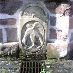 grés  Cde mairie de Voudezac : Fontaine du Saillant