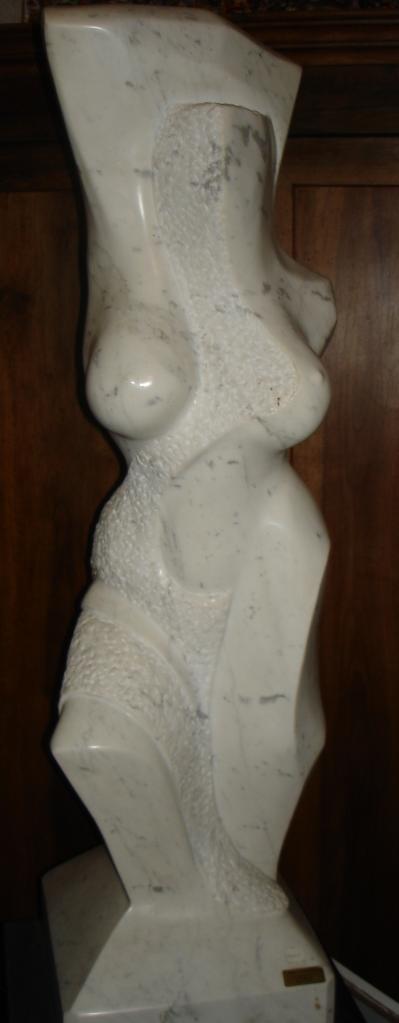 marbre de Carrare ; H 1m,50