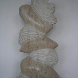 marbre ; H 0m50