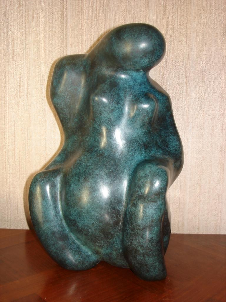 bronze  (l'original est en pierre calcaire)